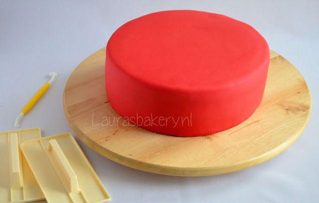 taart vullen en bekleden