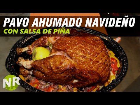 Como Hacer Pavo Ahumado Relleno Navideño - León, Guanajuato - - YouTube