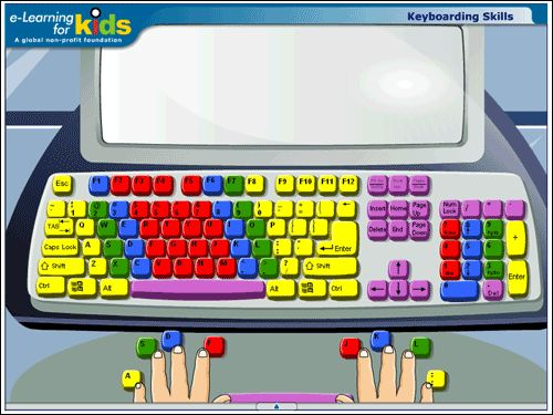e-Learning for Kids Free Typing Tutor