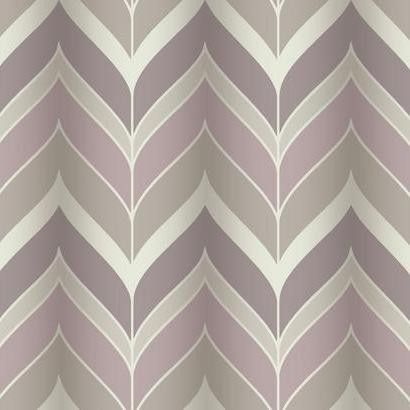 Sample Gatsby Wallpaper in Pink, Purple, and Silvery Grey design by York Wallcoverings