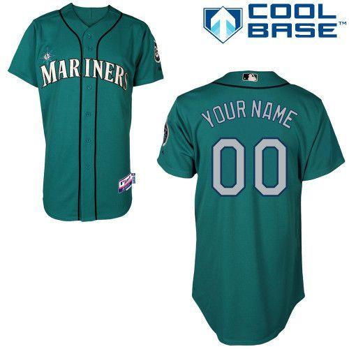 low priced de719 d03f2 MLB Customize Seattle Mariners Green Jerseys,cheap mlb ...