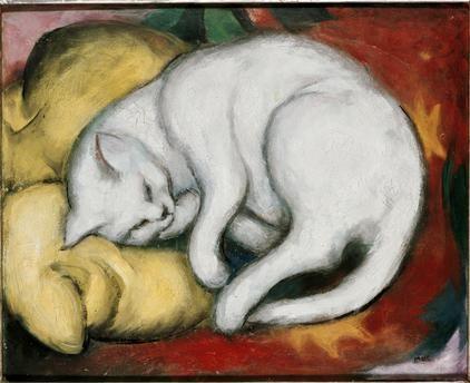 Franz Marc- Le chat blanc, 1912