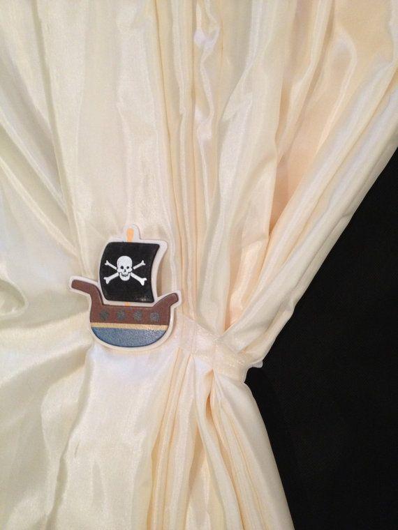 Magnetic Curtain Tiebacks Drape Holdbacks Pirate
