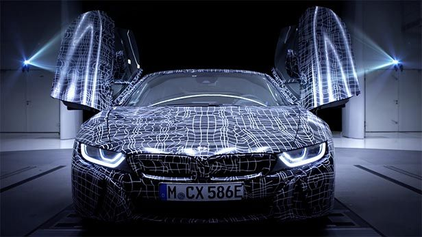 BMW I8 Roadster Gets Its First Teaser On The Internet We are finally able to watch the first teaser of BMW i8 Roadster on the internet. The video presents the model in a wind tunnel. BMW's new model is equipped with new bumpers front and rear, remodeled LED headlights, a new rear design, a pair of buttresses behind the driver and passenger, and a...