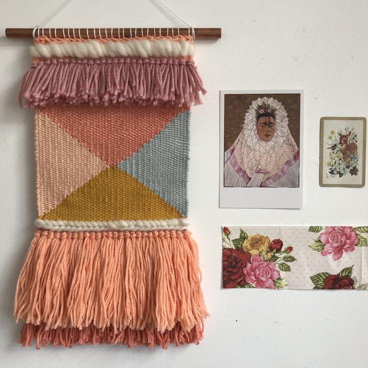 Peachy weave heydaisydesign.com.au