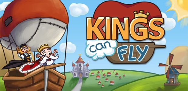Kings Can Fly is a fun and lighthearted puzzle game where you build wind fans to guide the King's airships through puzzles. #kingscanfly | More info: http://www.kingscanfly.com/
