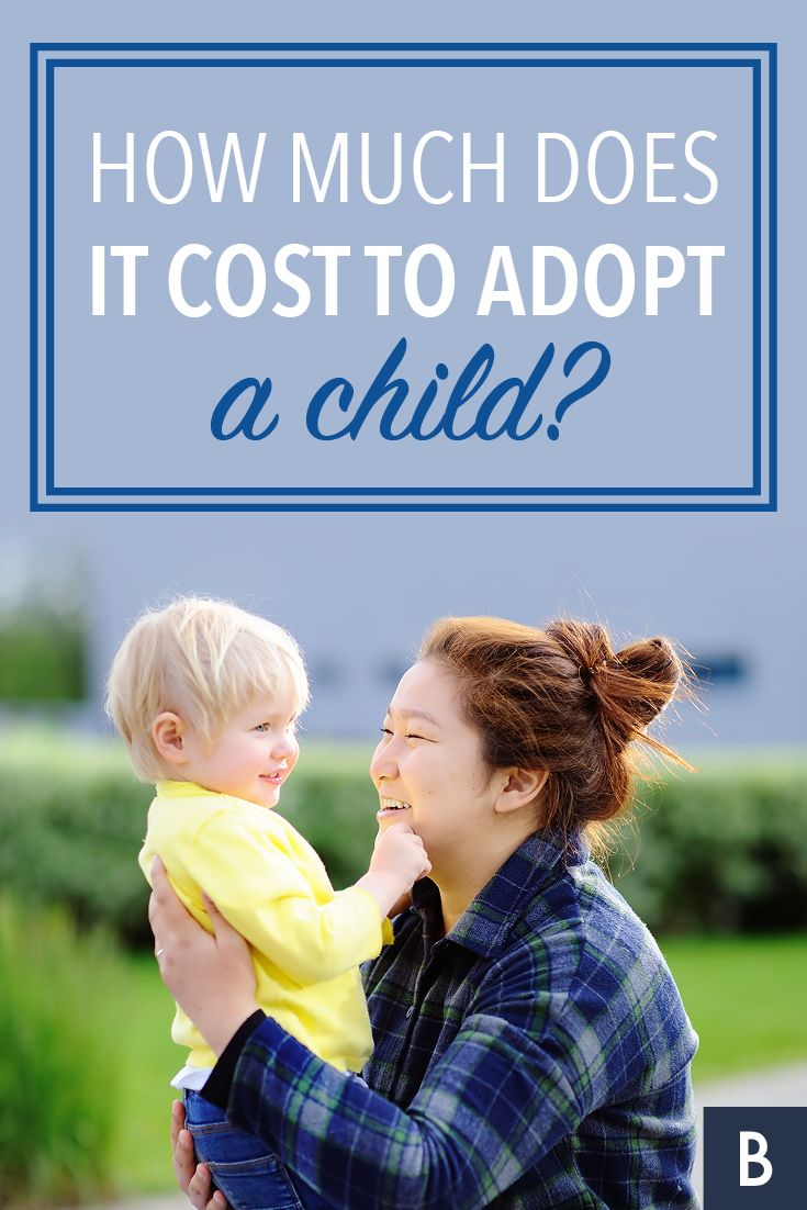 How Much Does It Cost To Adopt A Child? Adopting a child
