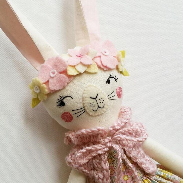 I hope you all had a lovely Easter weekend with friends and family in whatever way you enjoy!   #customdoll #clothdoll #customclothdoll #handmadedoll #handmade #fabricdoll #textiledolls #libertylondon  #heirloomdolls #handmadetoys #feltflowers #handembroidery #ooakclothdoll #woodlanddoll  #woodlandtheme #bunny#bunnyclothdoll #rabbit #rabbitdoll #rabbitclothdoll #madewithlove #madeinaustralia #deerdarlingdolls #etsy #etsyseller #etsyshop