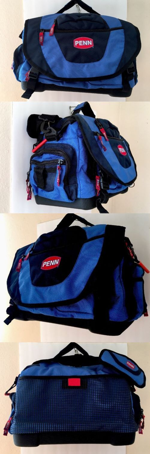 Tackle Boxes and Bags 22696: Large Penn Blue Fishing Tackle Bag -> BUY IT NOW ONLY: $55.5 on eBay!
