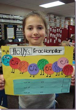Fractionpillar: Grade Math, Classroom Math, Teaching Math, Math Ideas, Teaching Ideas, Classroom Ideas, Second Grade, 2Nd Grade