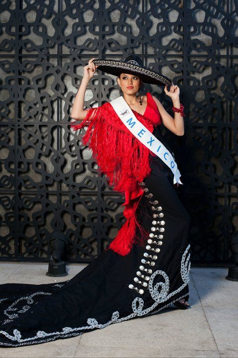 Traje de Jalisco Miss Beauty Mexico: Eunice Sánchez