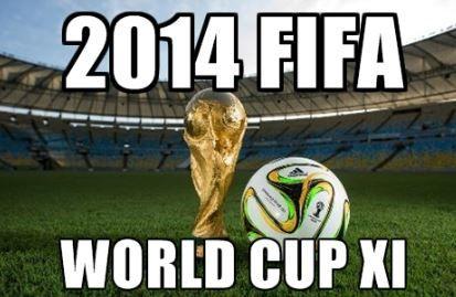 2014 #FIFAWorld Cup XI