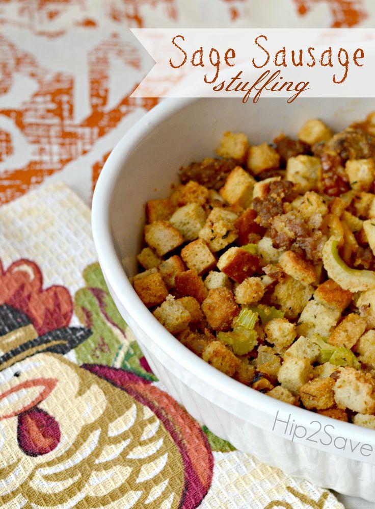 Sausage Thanksgiving Stuffing Recipe | Thanksgiving Stuffing, Stuffing ...