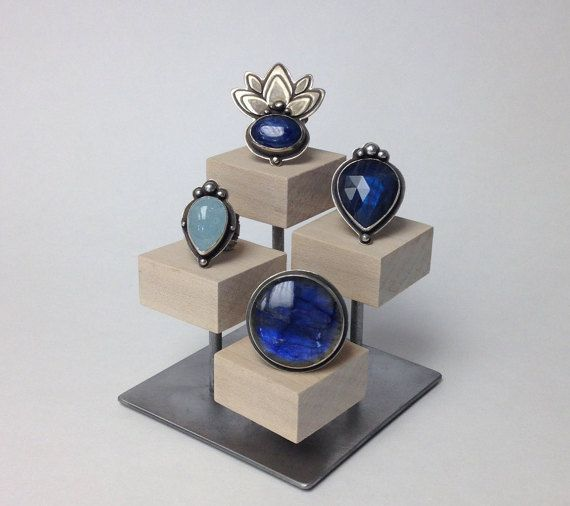Ring display stand, jewelry display, jewelry stand, ring holder, store fixture, craft show display