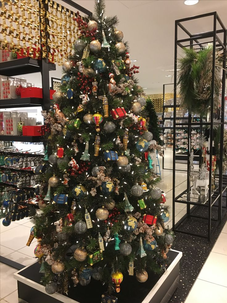 Christmas Around The World in 90 days collection at David Jones Sydney City store.