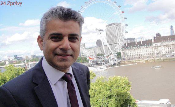 Muslimský starosta Londýna Khan posílá po útoku u mešity důrazný vzkaz celému světu