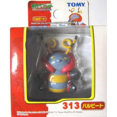 Pokemon 2005 Volbeat Tomy 2 Monster Collection AG Plastic Figure #313