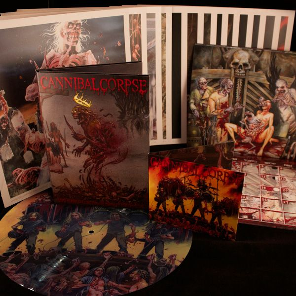 "Cannibal Corpse ""Dead Human Collection: 25 Years of Death Metal"" Boxset at http://www.indiemerch.com"