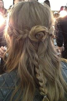 NYFW: Rodarte Hair - Autumn Winter 2013-14 Backstage (Vogue.com UK)