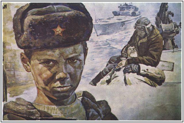 Военно-морской  флот  СССР  и  России.  .  Живопись.  .  К.  Антонов  название  картин.