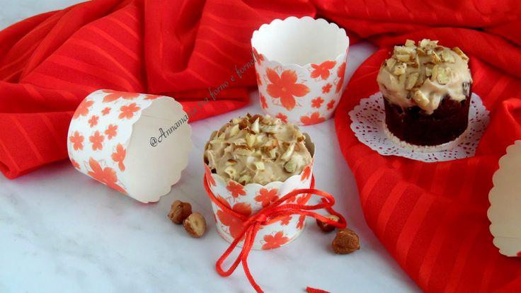 Muffin+con+crema+alla+nocciola