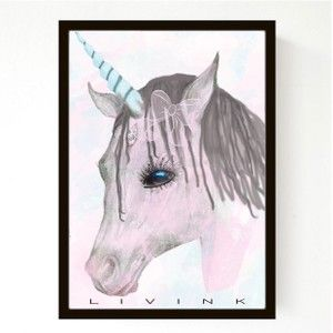 LAGERSALG - 50 x 70 cm - Unicorn