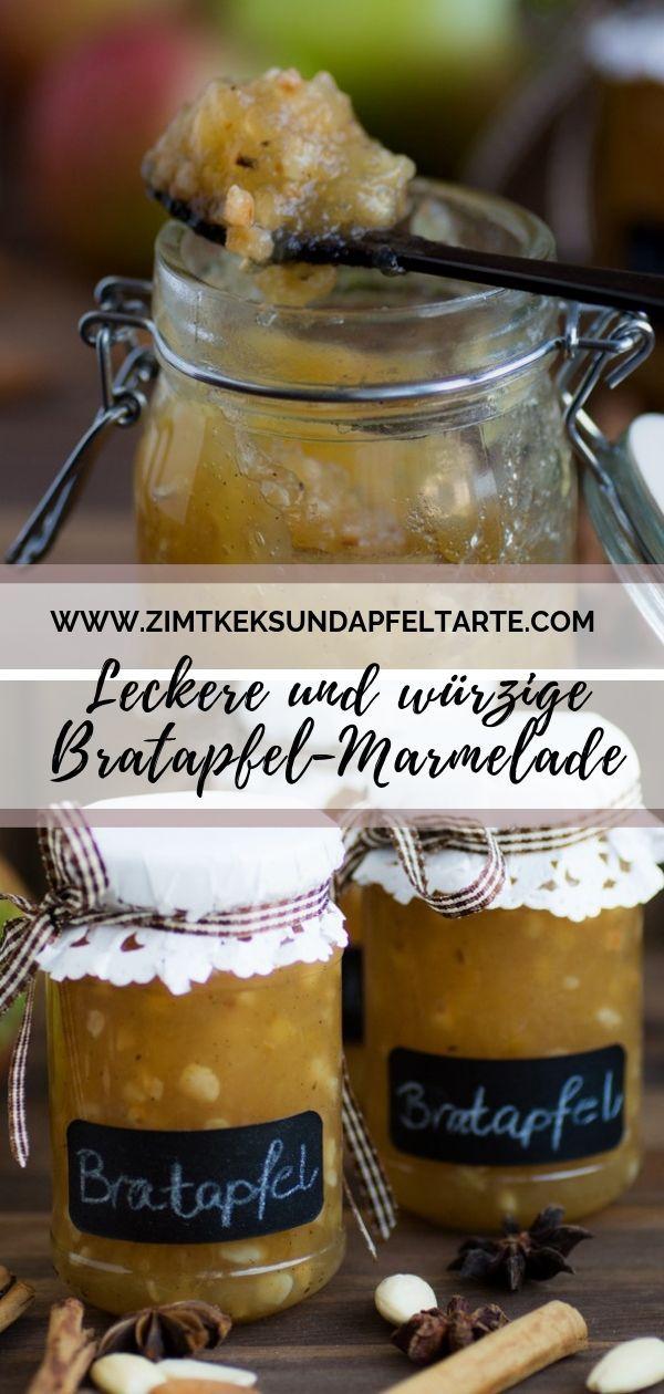 Meine Bratapfel-Marmelade – ganz einfach und lecker