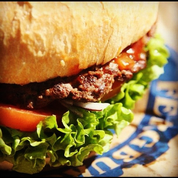 Late night snack from Ferg Burger- The burgers taste better than people say they do! #holidayhomes #AmazingAccom