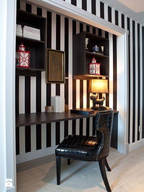 Gabinet styl Glamour - zdjęcie od Homebook.pl