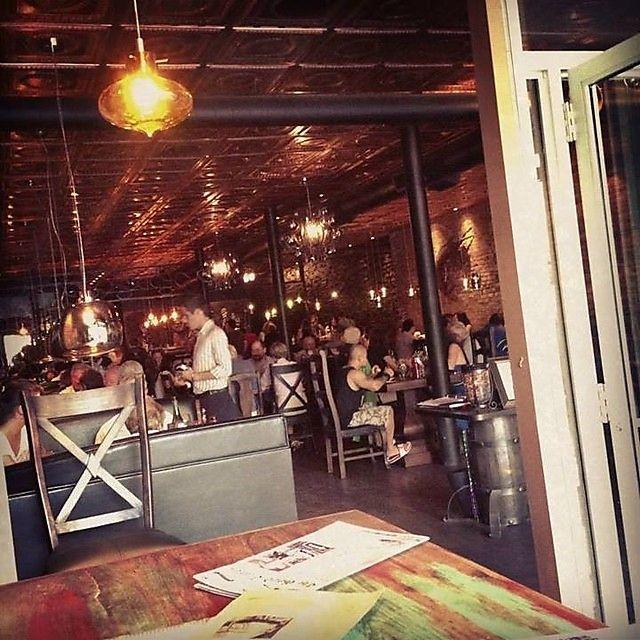 Bon Temps Cafe - the best decorated restaurant in Saskatoon.
