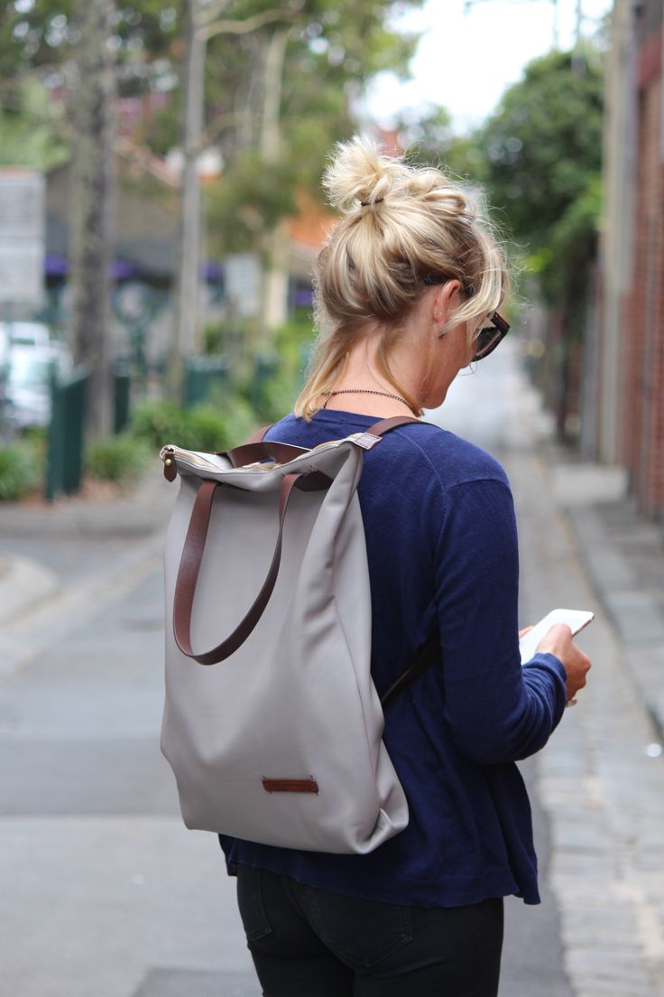 Wanderlust Backpack Bag is a limited edition versatile bag that can be worn over the shoulder or as a backpack.