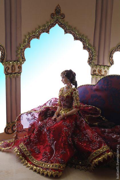 Коллекционные куклы ручной работы. Девушка в индийском наряде. Лариса Исаева. Интернет-магазин Ярмарка Мастеров. Индия