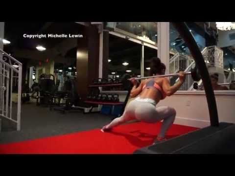 MICHELLE LEWIN Workout - More Booty! - YouTube
