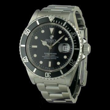 ROLEX - Submariner Date , cresus montres de luxe d'occasion, http://www.cresus.fr/montres/montre-occasion-rolex-submariner_date,r2,p25130.html