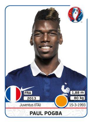 027 Paul Pogba - FRANCIA - EURO 2016