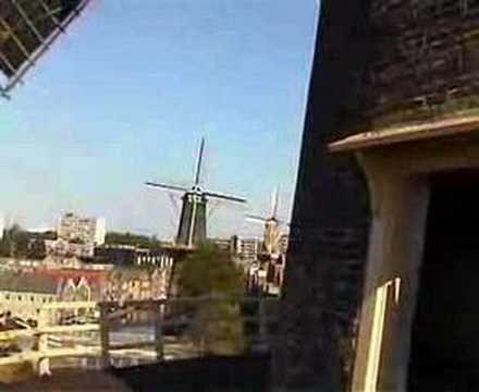 Windmills in Schiedam