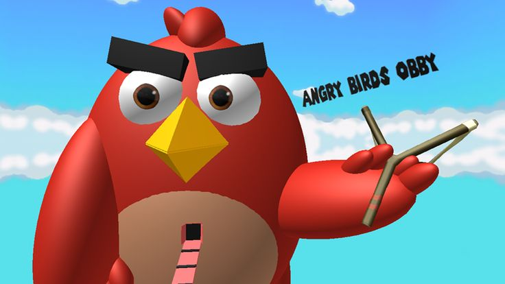 Angry Birds Obby - ROBLOX