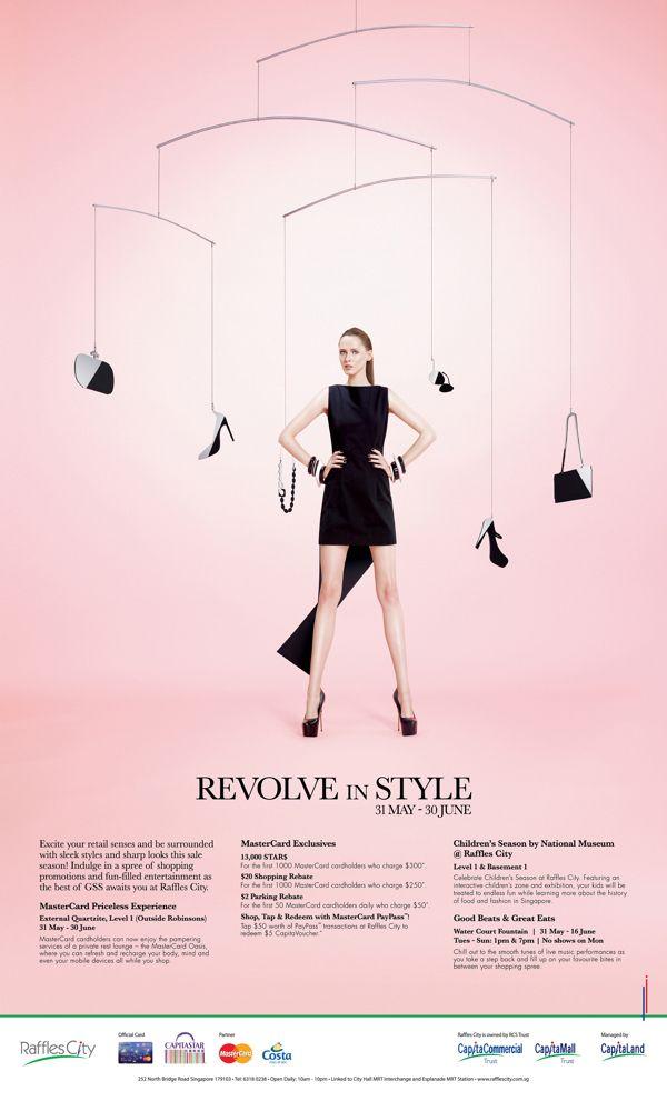 Raffles City Great Singapore Sale Campaign 2013 on Behance