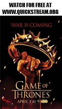 Game of Thrones - Watch full seasons free at www.QuickStream.org