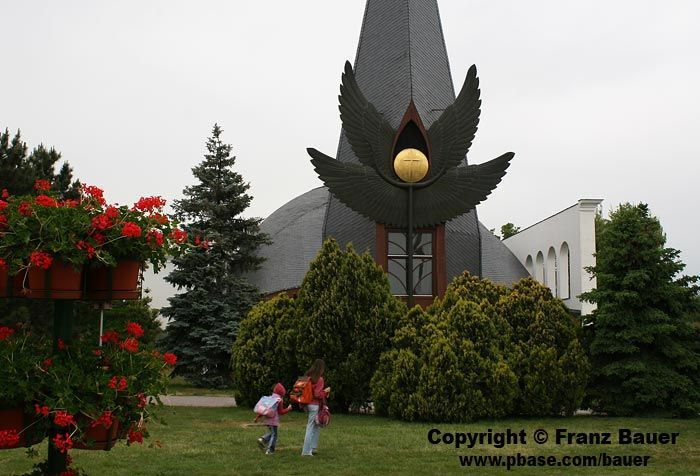 Church in Szazhalombatta, Hungary