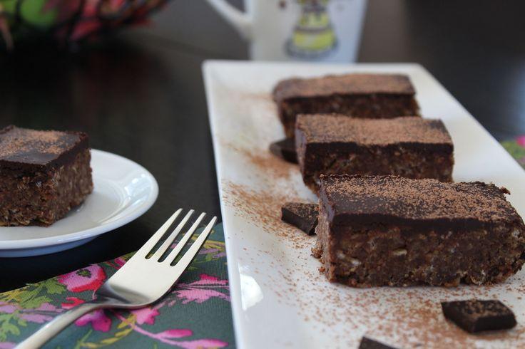 Imagine a dense, chewy, moist chocolatey treat that is refined sugar-free, gluten-free, dairy-free, nut-free & soya-free...enter my chocolate flapjacks!