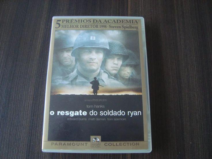 dvd o resgate do soldado ryan - tom hanks - duplo