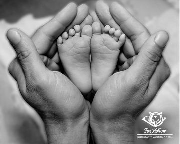 A #BabyPicture that shows just how small your bundle of joy really is.  Capture the moment while you have the chance