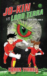Buzz Words:REVIEW Jo-Kin vs Lord Terra #scifi #kidlit #mglit #scbwi http://www.buzzwordsmagazine.com/2016/05/jo-kin-vs-lord-terra.html