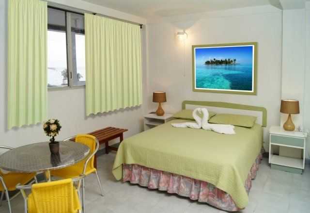 Habitación Hotel Verde Mar en San Andrés