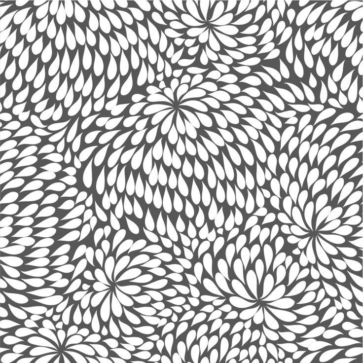 rain drops #wallpaper inspiration #circles #prints #graphics #textiles #interiordesign