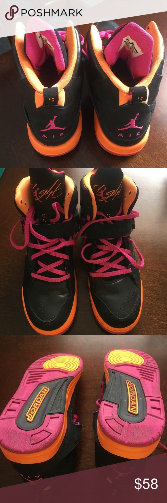 Jordan flight. No box Exelent condition. Clean Jordan Shoes Athletic Shoes