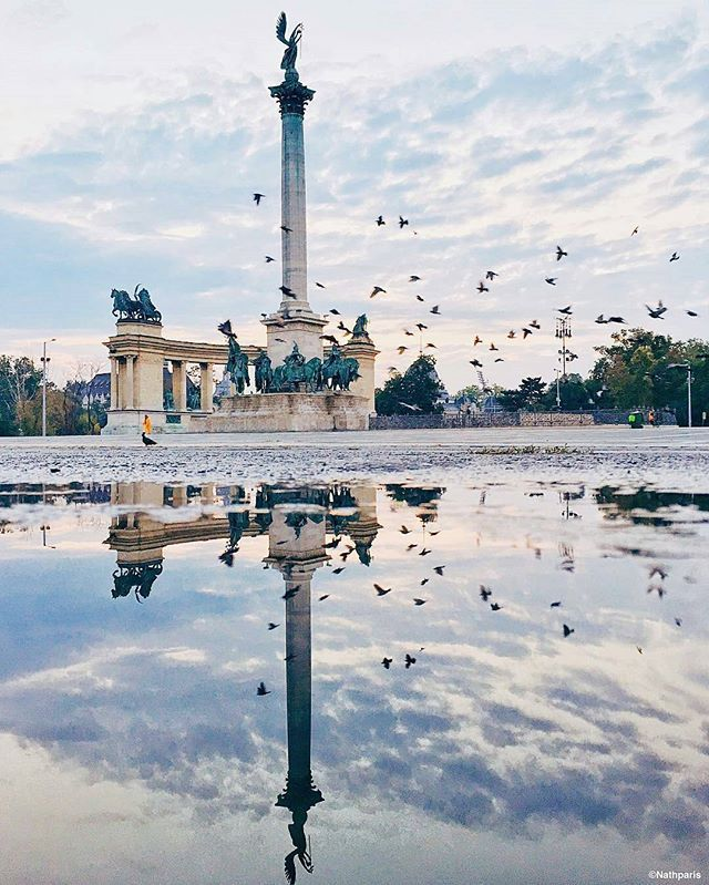 Hösök Tere, Budapest, Hungary