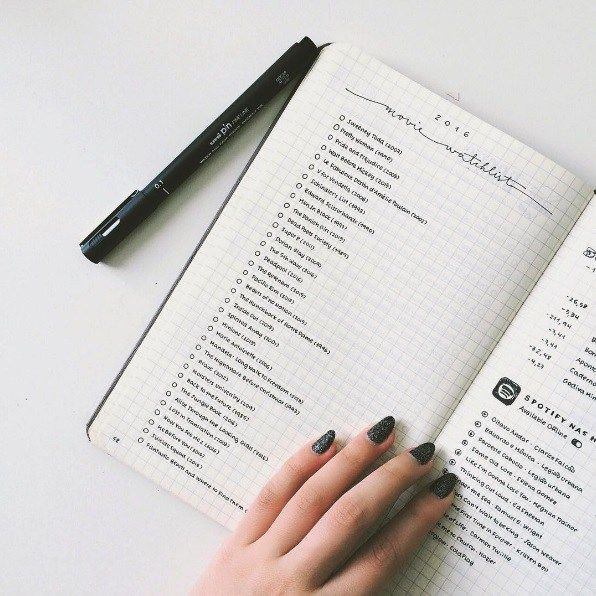 idée listes