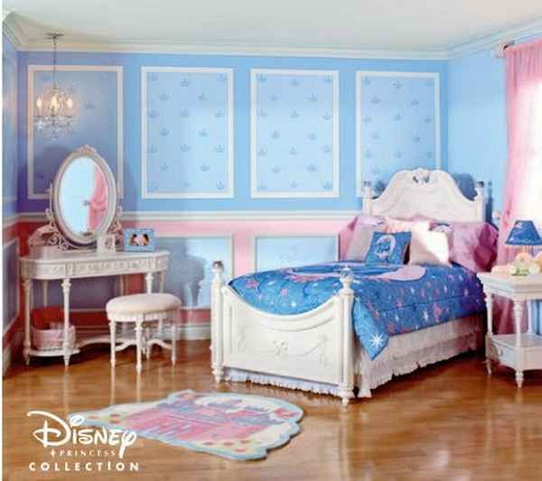 princess cinderella theme disney bedroom